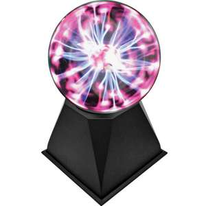 Plasma Ball Lamp now £6 free click and collect at Argos