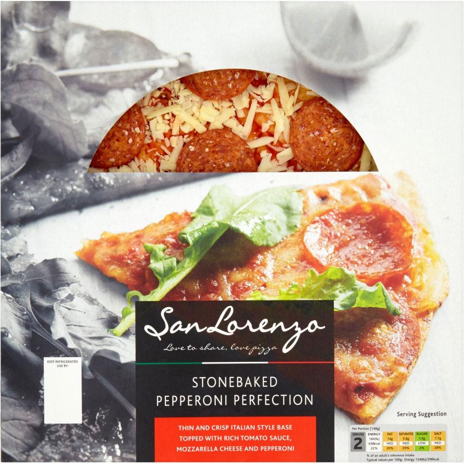 San Lorenzo Pepperoni Pizza (329g) £1.79 or 3 for £2 @ Ocado
