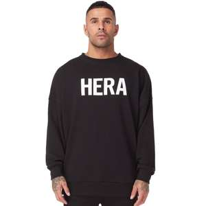 Hera London Black Sweatshirt £17.50 Delivered - Up to 70% off sale now on