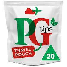 PG Tips Travel Pouch Tea Bags 20 per pack @ Heron Foods - 39p