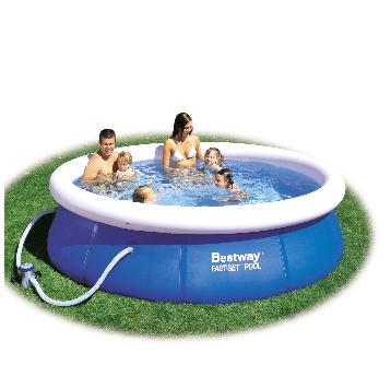 Bestway Fast Set Pool - 10ft with pump  £34.99 @ The Range