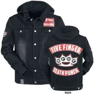 5FDP Mens' Jeans Jacket from the EMP Signature Collection for just £30.39 + £3.99 p&p