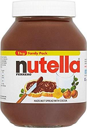 Nutella 1kg jar £3.39 @ Costco 15/7/19 - 4/8/19