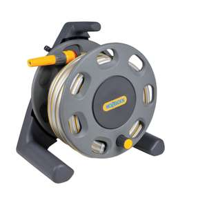Hozelock Garden 30m Hose Reel with 20m Hose - £19.95 at Homebase (Free C&C)