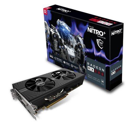 Sapphire Radeon RX 580 NITRO+ 8GB Graphics Card + 3 Month Xbox Pass - £168.99 @ CCL Online