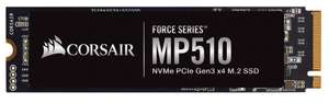 Corsair Force MP510 960 GB NVMe PCIe Gen3 x4 M.2-SSD (3,480MB/sec sequential read, 3,000MB/s write) for £113.83 Delivered @ Amazon Germany