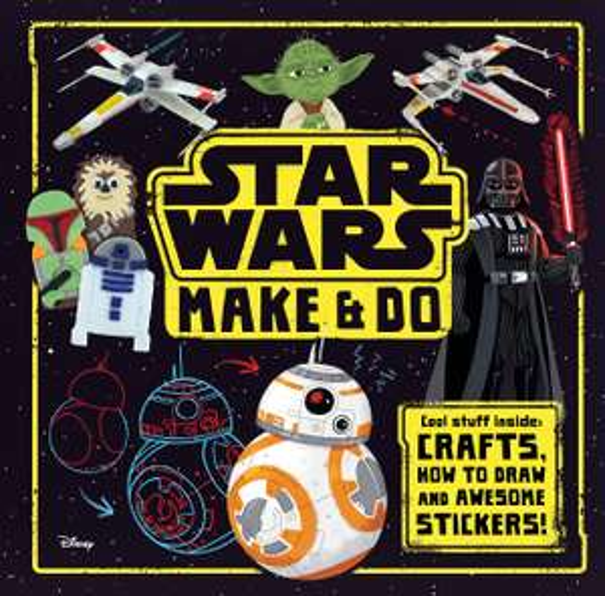 Star Wars Make & Do Book Or Star Wars Stationery Set, £1, In Store @ OneBelow, Argyle Street, Glasgow