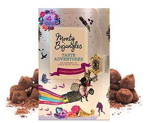 Monty Bojangles Taste Adventures Cocoa Dusted Truffles Assortment, 2 x 200g Treasure Gift Boxes £4 @ Amazon (Add on or subscribe and save)