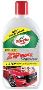 Turtle Wax Essential Zip Wax Super Concentrate Wash & Wax 1L £3.15 @ Halfords