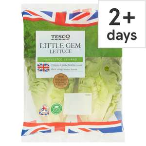 Tesco fruit and vegetable offers, starting from 35p - Lettuce / 45p - Peaches, Nectarines, Tomatoes, New Potatoes