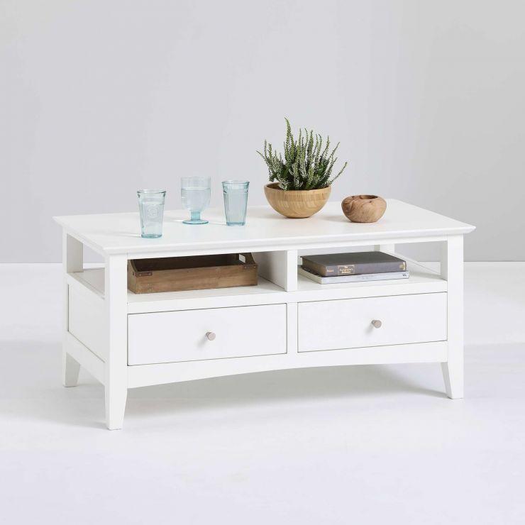 Painted Solid Hardwood Coffee Table - £129.99 delivered @ Oak Furniture Land