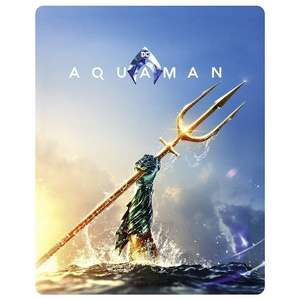 Aquaman 4K Steelbook (HMV exclusive) now £17.99 delivered