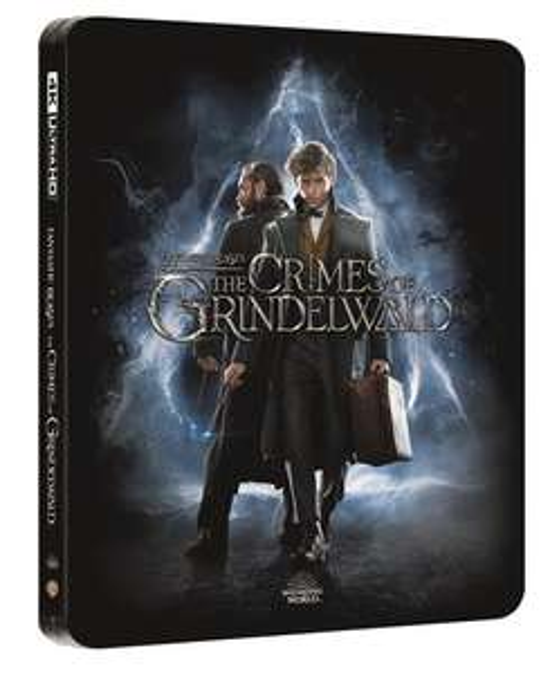 Fantastic Beasts: Crimes of Grindelwald 4K Steelbook now £17.99 delivered @ HMV