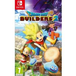 Dragon quest builders 2 (switch/ps4) - £37.95 delivered @ The Game Collection (with code)