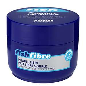 Fish Hair Products - Pomade, Reworkable Putty, Pliable Fibre and Defining Wax from 99p @ Home Bargains in store.