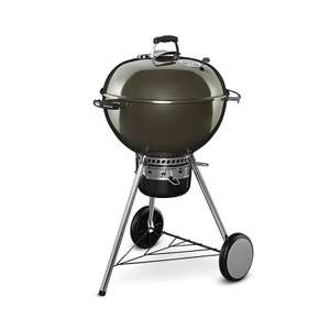 Weber 57cm One Touch/Smoke Mastertouch Reduced To Clear - Premium One £128.80 / Smoke Master £188.30 instore @ Homebase Truro