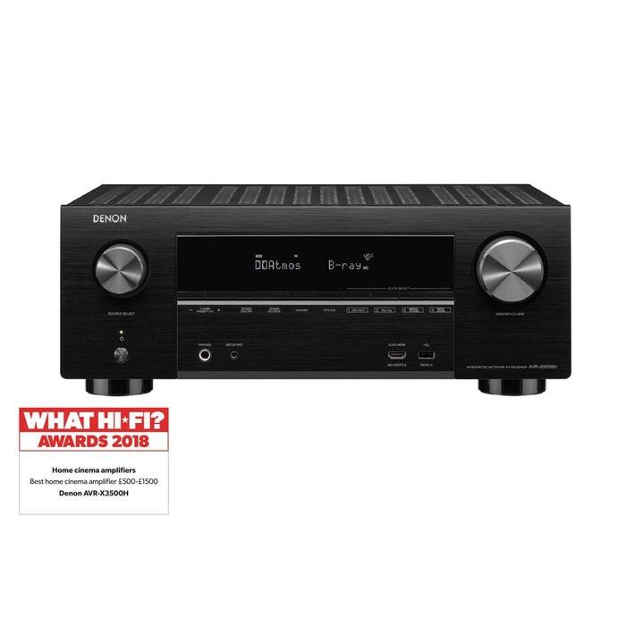 Denon AVRX3500H (Black) Atmos AV Receiver - £479 with code @ Richer Sounds