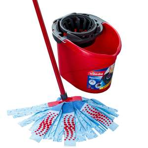 Vileda SuperMocio Torsion Floor Mop Bucket and Power Press Wringer (Mop not included) - £5.39 with code @ Robert Dyas (Free C&C)