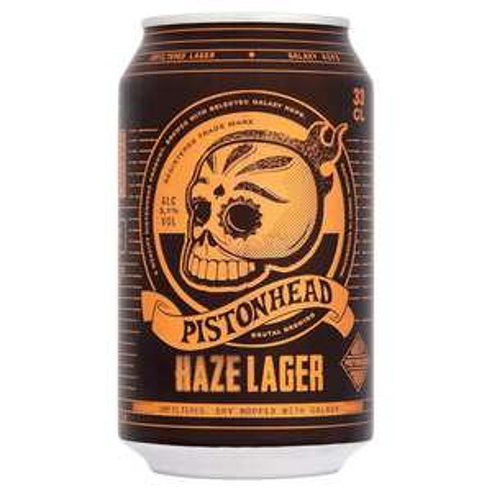 Pistonhead Haze Lager 33cl £1 - B&M