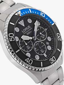 Lorus RT315GX9 Men's Chronograph Watch £45 @ John Lewis & Partners - Free C&C or £3.50 Delivery
