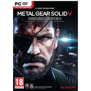 Metal Gear Solid V 5: Ground Zeroes PC Steam Key 99p @ CDKEYS