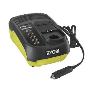 Ryobi ONE+ 18V In Car Charger RC18118C - £18.90 @ Homebase