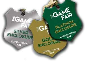 20% off advance tickets to the game fair : 26th to 28th july, 2019