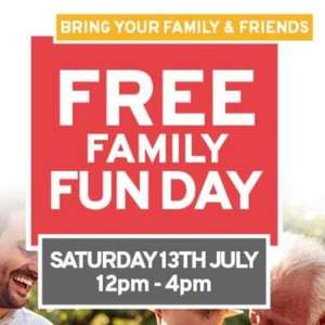 free food and activities at JTF Family Day on 13 July 12-4pm