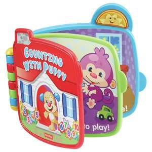 Fisher-Price Laugh & Learn Counting with Puppy Book £4.99 @ Argos - Free C&C