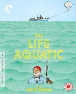 The Life Aquatic With Steve Zissou - The Criterion Collection  blu-Ray £9.99 @ zoom