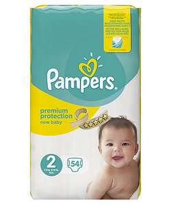 Pampers New Baby Size 2 pack 54 Reduced to Clear £4.40 Tesco instore