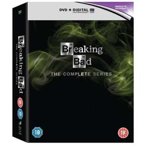 Breaking Bad: The Complete Series [DVD] £14.99 (£13.49 with code for new signups) @ Zoom