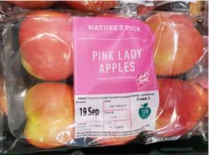 6 Pink Lady Apples for £1.69 at Aldi