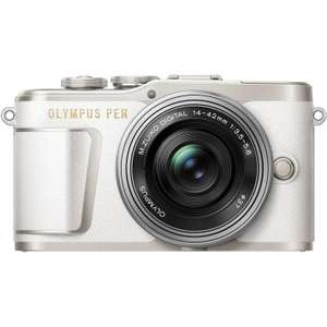 Olympus PEN E-PL9 16 MP Compact System Camera, 4K Movies, 3-Inch Display, Wi-Fi and 14 - 42 mm Lens - White £313.99 @ eGlobal Central