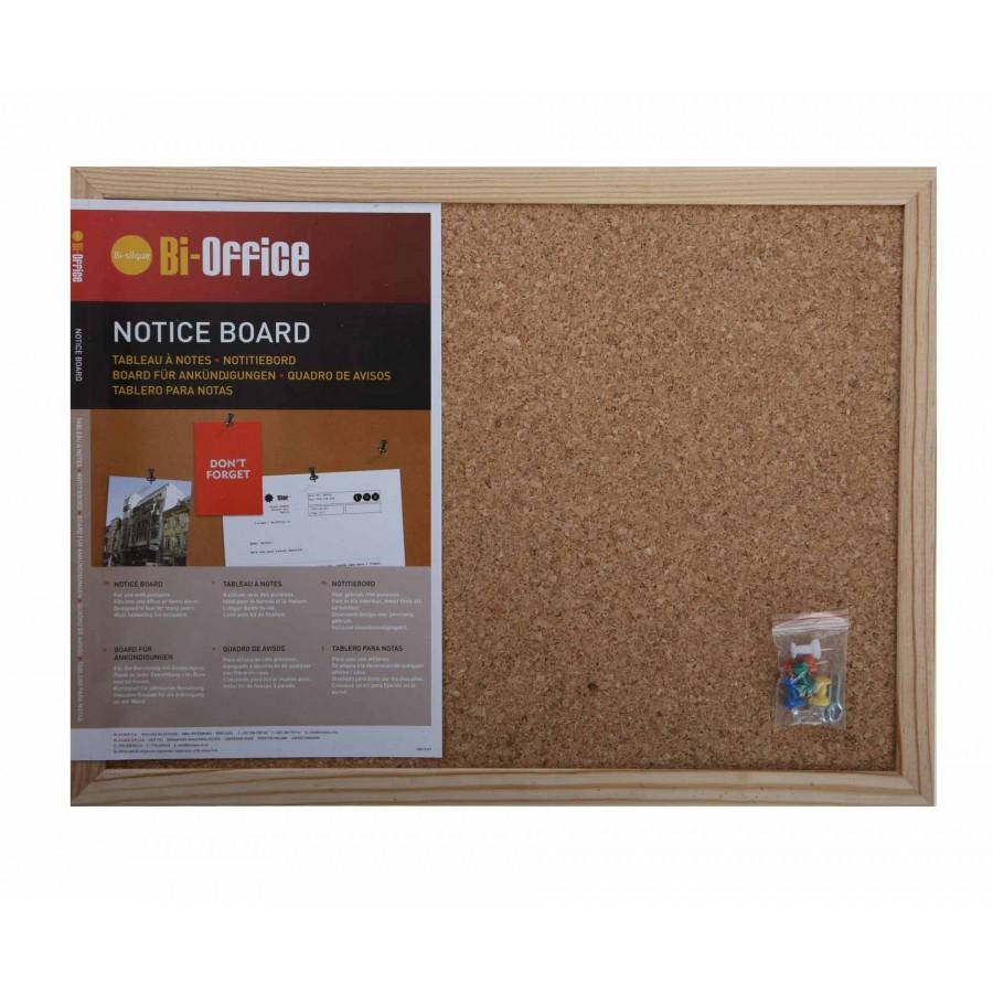 Bi-Office Cork Notice Board 900x600mm / 585x385mm / 400x300mm from £4.49 Ryman FREE C&C