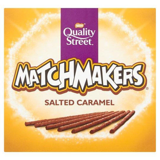 Salted Caramel Matchmakers 120G   75p @ Morrisons Instore