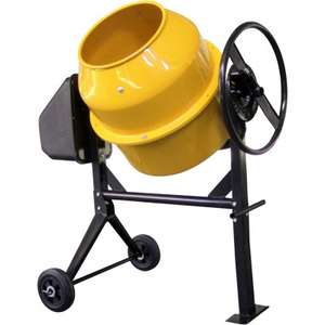 Cement Mixer 120L 550w / 230v  £139.99 delivered @ JTF