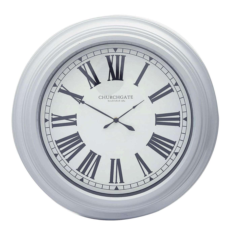 Impressionist Grey Oversize Wall Clock Dia. 55cm x 8cm  £14.00 @ Dunelm (free C&C)
