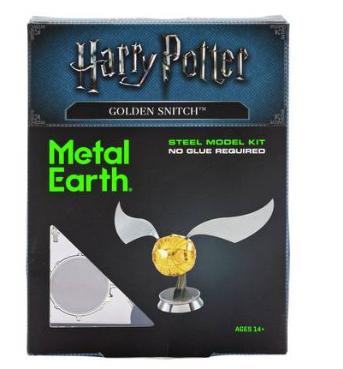 Metal Earth 3D Model Kit - Harry Potter Golden Snitch £4.44  @ Argos
