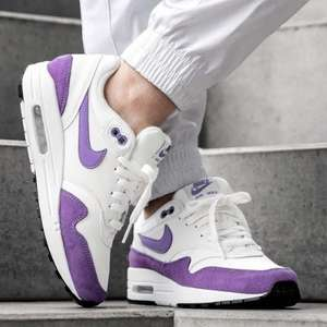 Air Max 1 - White/Purple reduced from £100 to just £40 at Very + possible 10% TopCashback for new customers