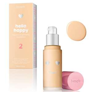 Benefit Hello Happy Flawless foundation £20.80 free delivery with code various shades