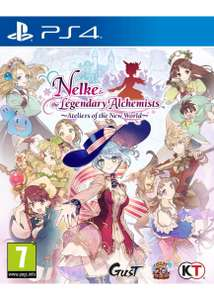 Nelke & the Legendary Alchemists: Ateliers of the New World (PS4) £21.85 Delivered @ Base