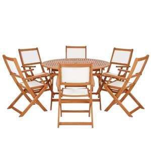 Roma 6-Seater Garden Dining Set £204.99 Delivered using 15% off Code @ Very - See OP