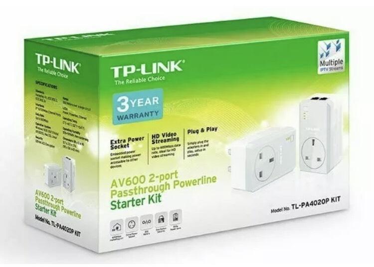 TP-LINK TL-PA4020P KIT instore @ Homebase £11.99