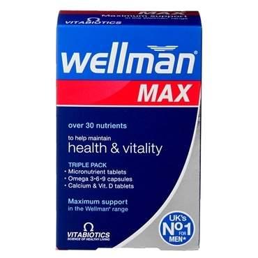 Vitabiotics Wellman Max - 84 Tablets - £10.24 (Prime) £14.73 (Non Prime) @ Amazon