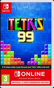 Tetris 99 Physical Version includes 12 month online membership  (Nintendo Switch) £22.85 @  ShopTo