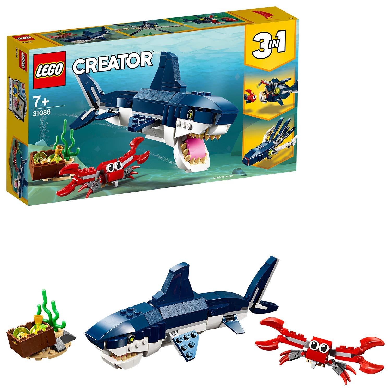 LEGO 31088 Creator 3-in-1 Deep Sea Creatures now £9.75 (Prime) + £4.49 (non Prime) at Amazon