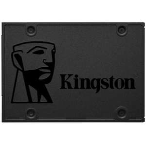 """Kingston 240GB A400 SSD 2.5"""" SATA 3 Solid State Drive - 500MB/s FOR £22.49 With Code @ MyMemory"""