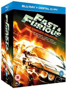 Pre-owned Blu-ray Boxsets Eg Fast & Furious 1-5 £2.96 / Fast & Furious 1-6 £3.77 / Back to the Future Trilogy £3.95 with code @ Music Magpie