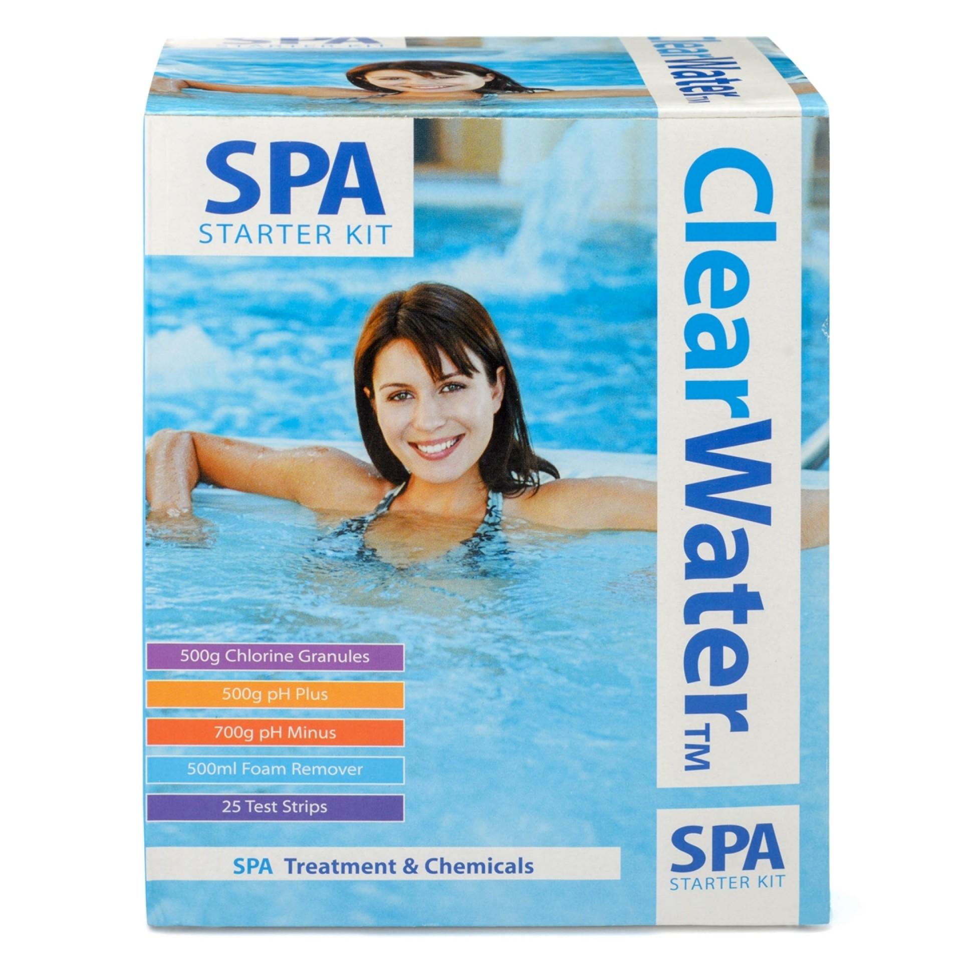 Layzspa Clearwater Spa Starter Kit £14.62 @ Tesco